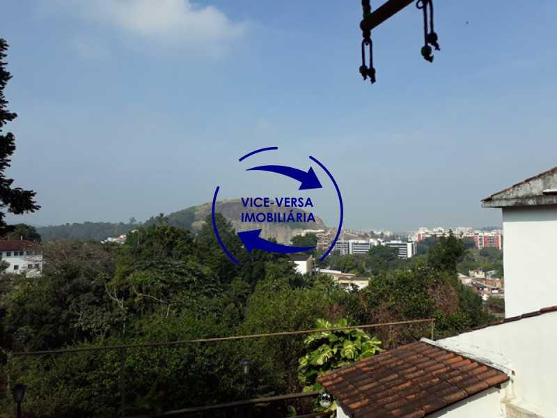 vista-varanda - Casa À venda na Freguesia - Suíça Carioca II, rua Luís Severiano Ribeiro! Estilo colonial, lavabo, 2 suítes, armários, closet, varanda, lavanderia,espaço gourmet! - 1288 - 22