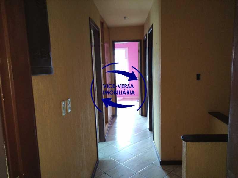 segundo-piso-circulacao - EXCLUSIVIDADE!!! Casa duplex À venda no Condomínio Bosque dos Esquilos esquina com a Rua Flordelice - 4 quartos, suítes, centro de terreno! - 1291 - 9