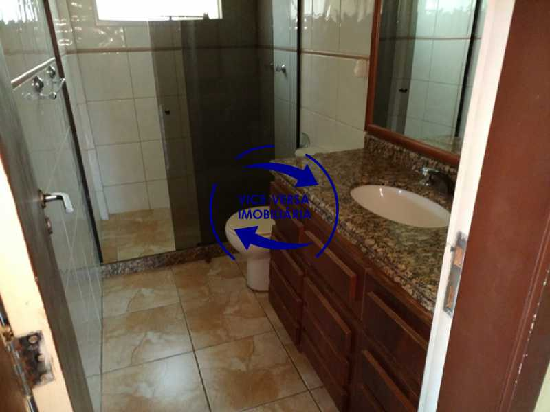 banheiro-social - EXCLUSIVIDADE!!! Casa duplex À venda no Condomínio Bosque dos Esquilos esquina com a Rua Flordelice - 4 quartos, suítes, centro de terreno! - 1291 - 22