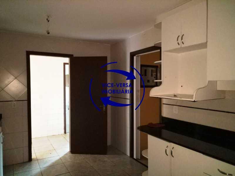 cozinha - EXCLUSIVIDADE!!! Casa duplex À venda no Condomínio Bosque dos Esquilos esquina com a Rua Flordelice - 4 quartos, suítes, centro de terreno! - 1291 - 7