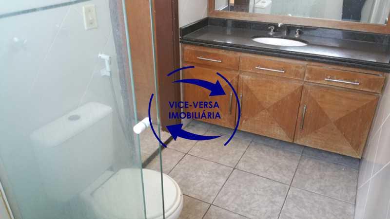 banheiro-da-suite - EXCLUSIVIDADE!!! Casa duplex À venda no Condomínio Bosque dos Esquilos esquina com a Rua Flordelice - 4 quartos, suítes, centro de terreno! - 1291 - 20