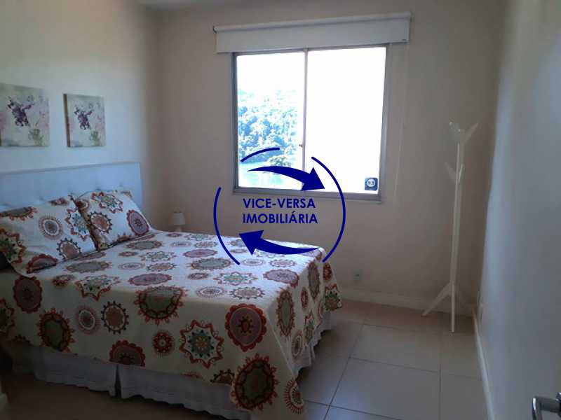 quarto - Flat À venda no Jardim Oceânico - Avenida do Pepê! Sala 2 ambientes, varanda, cozinha, área de serviço, com splits! - 1293 - 12