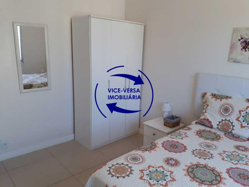 quarto - Flat À venda no Jardim Oceânico - Avenida do Pepê! Sala 2 ambientes, varanda, cozinha, área de serviço, com splits! - 1293 - 13