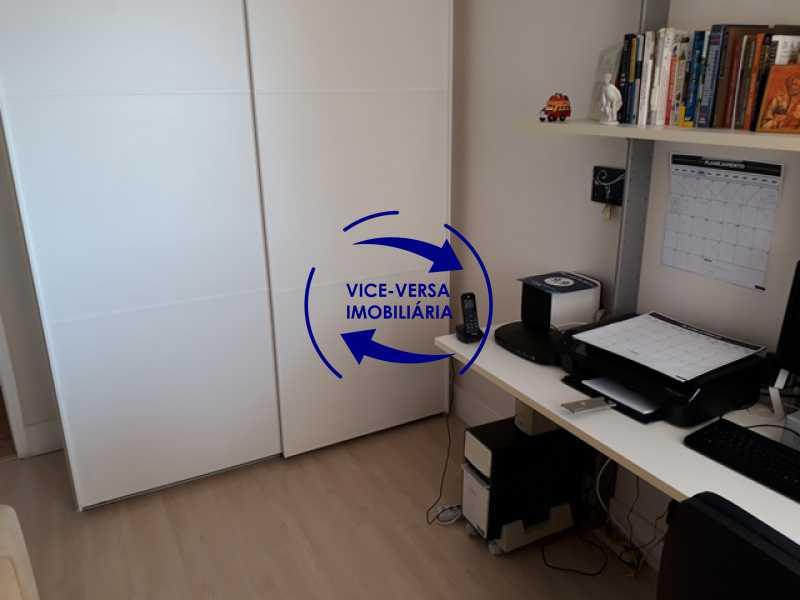 primeiro-quarto-home-office - Apartamento À vendaApartamento À venda no Condomínio Barramares - 127m², salão, varanda, 3 quartos, dependências, 2 vagas, ótima infraestrutura! - 1294 - 14