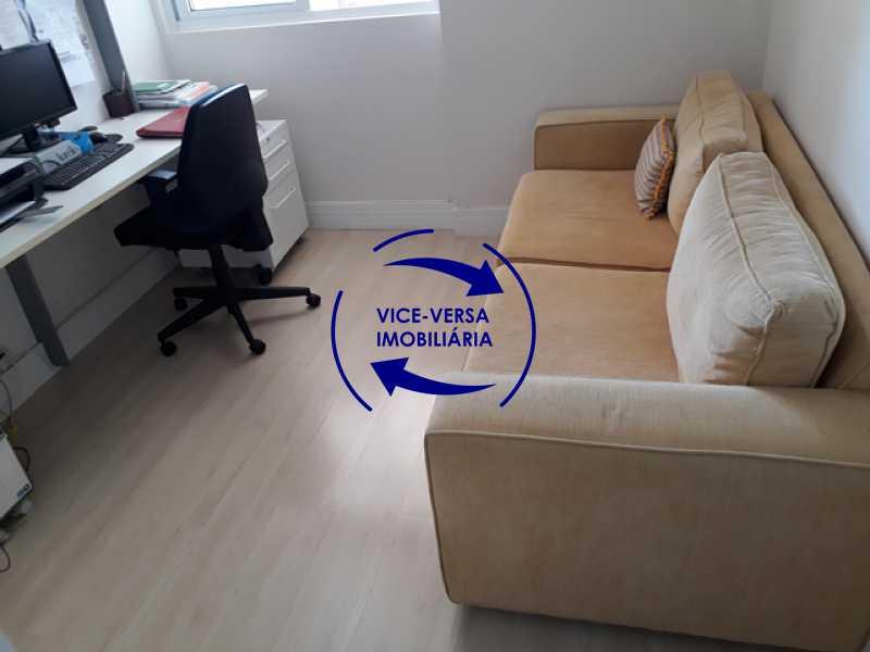 primeiro-quarto-home-office - Apartamento À vendaApartamento À venda no Condomínio Barramares - 127m², salão, varanda, 3 quartos, dependências, 2 vagas, ótima infraestrutura! - 1294 - 15
