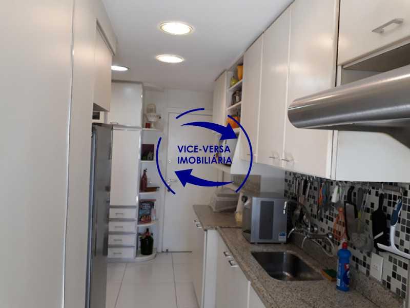 cozinha - Apartamento À vendaApartamento À venda no Condomínio Barramares - 127m², salão, varanda, 3 quartos, dependências, 2 vagas, ótima infraestrutura! - 1294 - 21