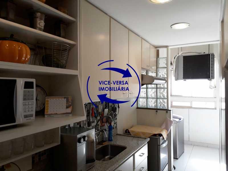 cozinha - Apartamento À vendaApartamento À venda no Condomínio Barramares - 127m², salão, varanda, 3 quartos, dependências, 2 vagas, ótima infraestrutura! - 1294 - 22