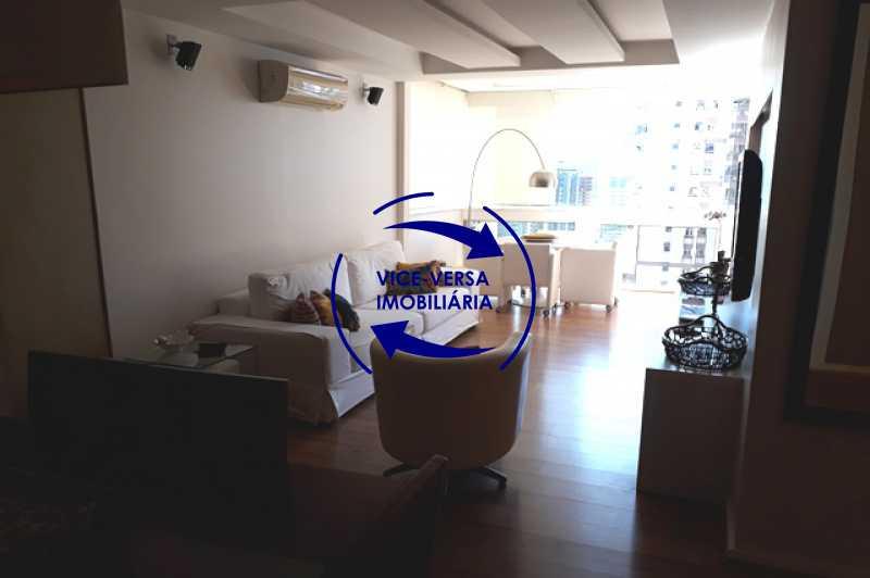 sala - Apartamento À vendaApartamento À venda no Condomínio Barramares - 127m², salão, varanda, 3 quartos, dependências, 2 vagas, ótima infraestrutura! - 1294 - 5