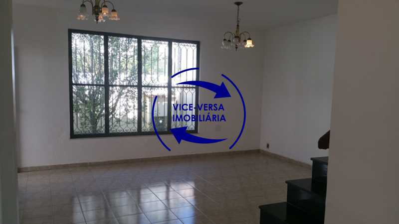 1ºpav-sala - Casa duplex À venda no Condomínio Vale das Acácias - Vila Valqueire! - 1296 - 6