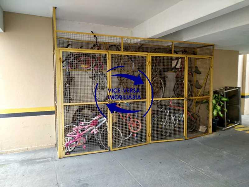 garagem-bicicletario - Apartamento À Venda - Grajaú - Rio de Janeiro - RJ - 1298 - 21