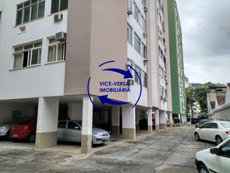 garagem - Apartamento 2 quartos À venda na Tijuca - colado À Praça Saens Pena, comércio, bancos e metrô! Box blindex, quarto de empregada revertido! - 1299 - 4