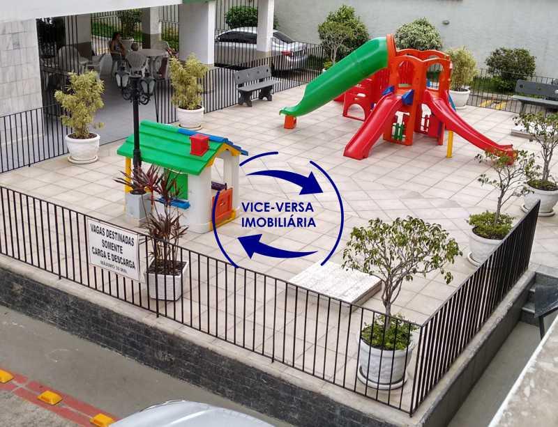playground-brinquedos - Apartamento 2 quartos À venda na Tijuca - colado À Praça Saens Pena, comércio, bancos e metrô! Box blindex, quarto de empregada revertido! - 1299 - 5