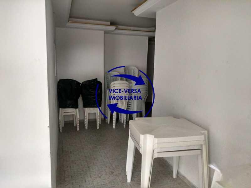 salao-de-festas - Apartamento 2 quartos À venda na Tijuca - colado À Praça Saens Pena, comércio, bancos e metrô! Box blindex, quarto de empregada revertido! - 1299 - 7