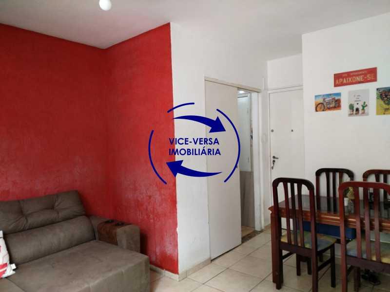 sala - Apartamento 2 quartos À venda na Tijuca - colado À Praça Saens Pena, comércio, bancos e metrô! Box blindex, quarto de empregada revertido! - 1299 - 9