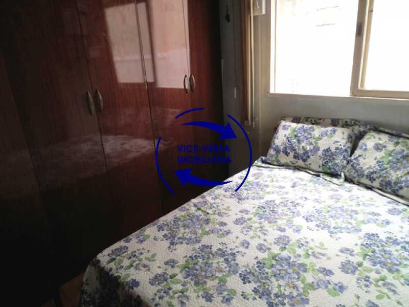 segundo-quarto - Apartamento 2 quartos À venda na Tijuca - colado À Praça Saens Pena, comércio, bancos e metrô! Box blindex, quarto de empregada revertido! - 1299 - 15