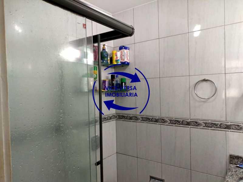 banheiro-social - Apartamento 2 quartos À venda na Tijuca - colado À Praça Saens Pena, comércio, bancos e metrô! Box blindex, quarto de empregada revertido! - 1299 - 16