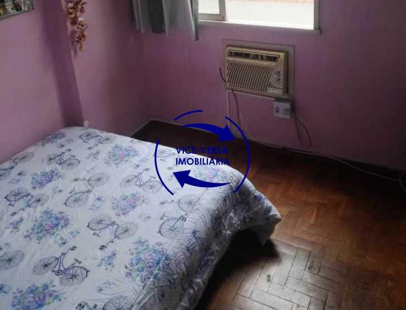primeiro-quarto - Apartamento 2 quartos À venda na Tijuca - colado À Praça Saens Pena, comércio, bancos e metrô! Box blindex, quarto de empregada revertido! - 1299 - 14