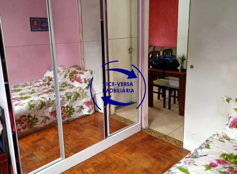primeiro-quarto - Apartamento 2 quartos À venda na Tijuca - colado À Praça Saens Pena, comércio, bancos e metrô! Box blindex, quarto de empregada revertido! - 1299 - 13
