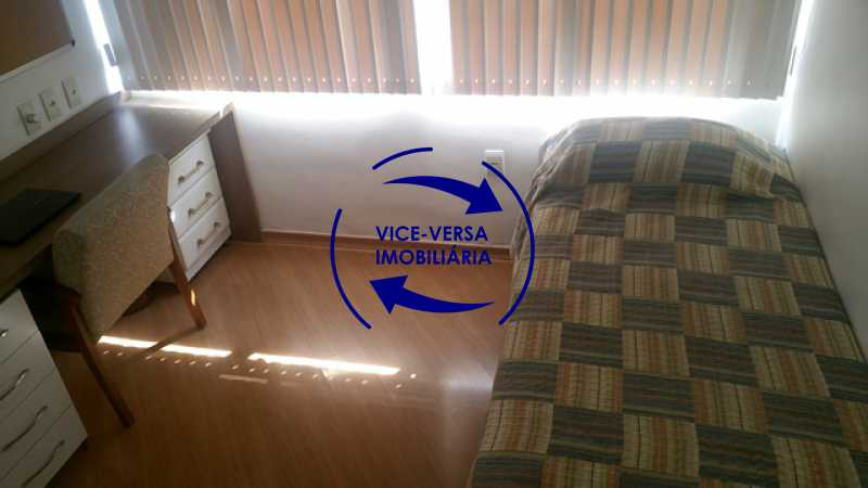 segundo-quarto - Apartamento À venda na Rua Amaral, próximo ao SESC Tijuca - sala 2 ambientes, lavabo, 3 quartos com armários, cozinha americana, lavanderia, quarto de empregada, vaga garantida! - 1305 - 13