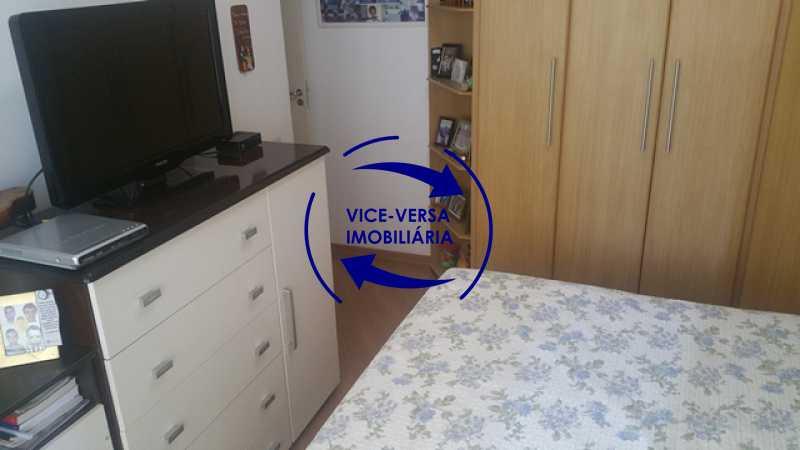 terceiro-quarto - Apartamento À venda na Rua Amaral, próximo ao SESC Tijuca - sala 2 ambientes, lavabo, 3 quartos com armários, cozinha americana, lavanderia, quarto de empregada, vaga garantida! - 1305 - 16