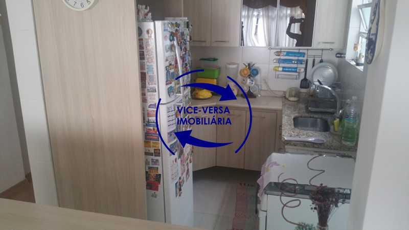 cozinha-americana - Apartamento À venda na Rua Amaral, próximo ao SESC Tijuca - sala 2 ambientes, lavabo, 3 quartos com armários, cozinha americana, lavanderia, quarto de empregada, vaga garantida! - 1305 - 22