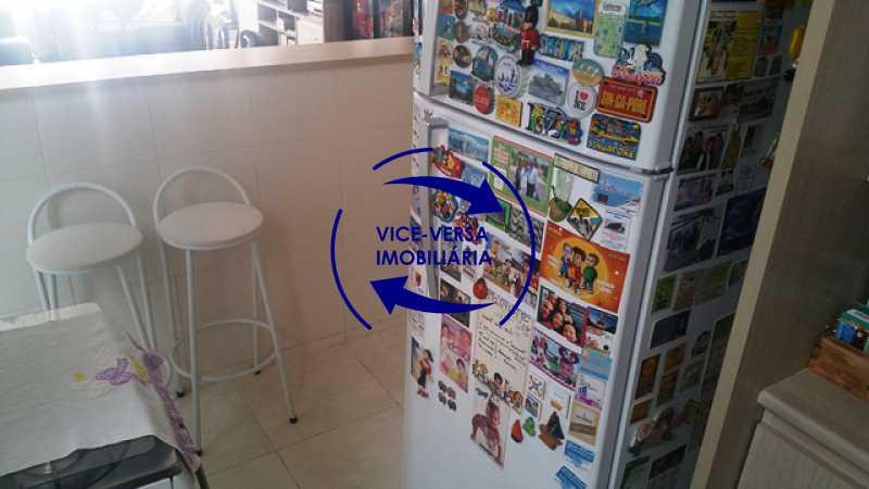 cozinha-americana - Apartamento À venda na Rua Amaral, próximo ao SESC Tijuca - sala 2 ambientes, lavabo, 3 quartos com armários, cozinha americana, lavanderia, quarto de empregada, vaga garantida! - 1305 - 20