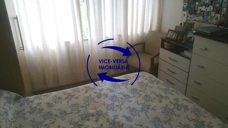 28-terceiro-quarto - Apartamento À venda na Rua Amaral, próximo ao SESC Tijuca - sala 2 ambientes, lavabo, 3 quartos com armários, cozinha americana, lavanderia, quarto de empregada, vaga garantida! - 1305 - 18