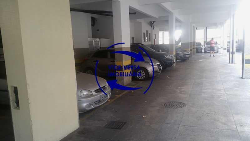 garagem - Apartamento À venda na Rua Amaral, próximo ao SESC Tijuca - sala 2 ambientes, lavabo, 3 quartos com armários, cozinha americana, lavanderia, quarto de empregada, vaga garantida! - 1305 - 5