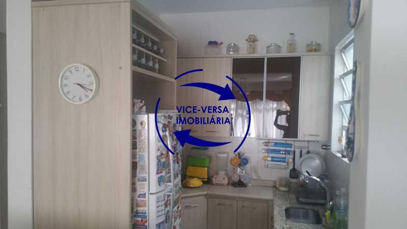 cozinha-americana - Apartamento À venda na Rua Amaral, próximo ao SESC Tijuca - sala 2 ambientes, lavabo, 3 quartos com armários, cozinha americana, lavanderia, quarto de empregada, vaga garantida! - 1305 - 21