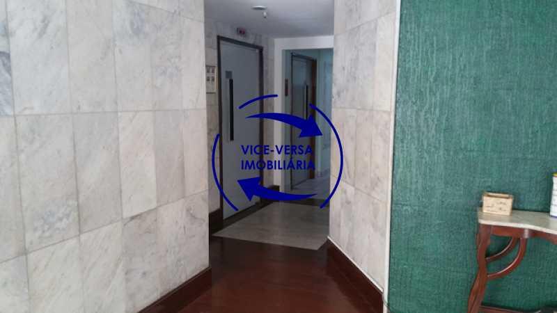portaria-elevadores - Apartamento 2 quartos À venda perto do Norteshopping - Rua Conselheiro Agostinho, sala 2 ambientes, armários, box blindex, vaga na escritura, condomínio com infraestrutura! - 1310 - 7