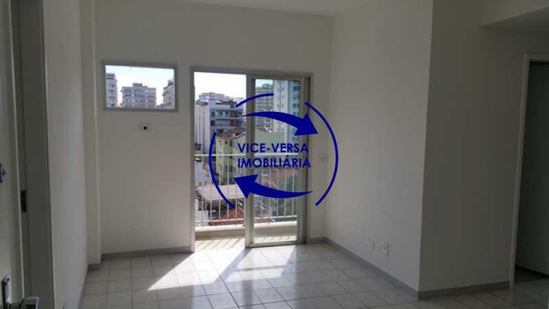 sala - Apartamento 2 quartos À venda perto do Norteshopping - Rua Conselheiro Agostinho, sala 2 ambientes, armários, box blindex, vaga na escritura, condomínio com infraestrutura! - 1310 - 9