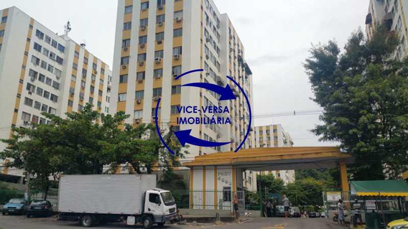 fachada - Apartamento 2 quartos À venda no Condomínio PREV, em Engenho da Rainha - próximo da Estação de metrô, com mega infraestrutura de lazer e segurança, vaga na escritura! - 1316 - 1