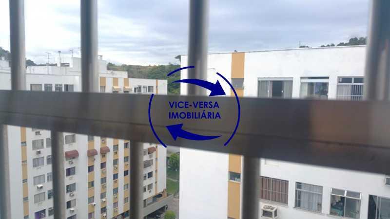 vista-da-sala - Apartamento 2 quartos À venda no Condomínio PREV, em Engenho da Rainha - próximo da Estação de metrô, com mega infraestrutura de lazer e segurança, vaga na escritura! - 1316 - 11