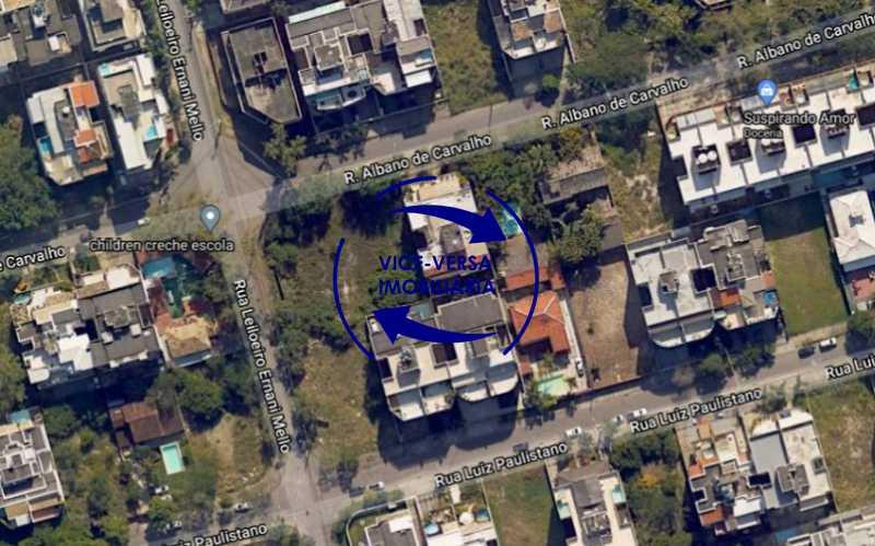 7 - Terreno para incorporação no Recreio dos Bandeirantes, 651m², Rua Albano de Carvalho esquina da Rua Engenheiro Ernâni Melo, próximo À Avenida das Américas e o Parque Chico Mendes. - 1318 - 8