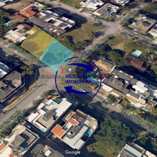 2 - Terreno À venda em Recreio dos Bandeirantes - Rua Albano de Carvalho, 2 lotes, 1.280m²! - 1320 - 3