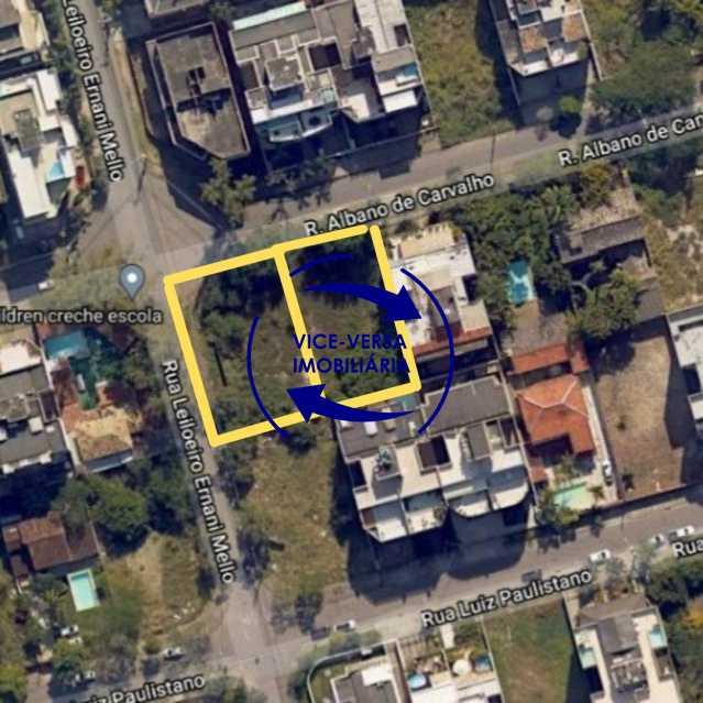 1 - Terreno À venda em Recreio dos Bandeirantes - Rua Albano de Carvalho, 2 lotes, 1.280m²! - 1320 - 1