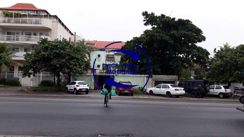 2-fachada - Ampla casa À venda na Estrada do Pontal, frente de rua, a uma quadra da Praia da Macumba! Terreno com 600m². - 1331 - 3