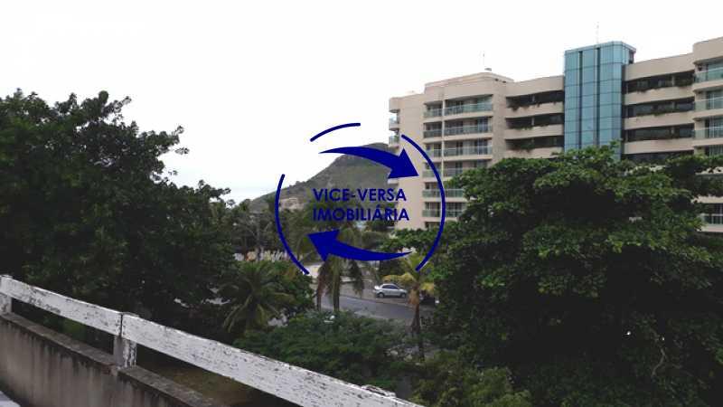 08-vista - Ampla casa À venda na Estrada do Pontal, frente de rua, a uma quadra da Praia da Macumba! Terreno com 600m². - 1331 - 9