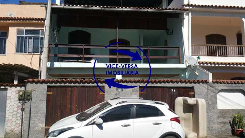 fachada - Casa À venda no Anil - Condomínio Vale Araticum (Condomínio dos Bancários), área arborizada, 280m², 4 quartos, suíte, lavanderia! - 1340 - 30