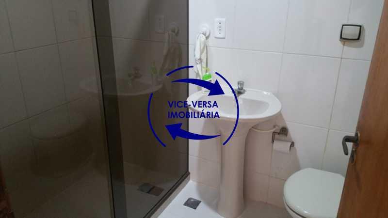 banheiro-social-terreo - Casa À venda no Anil - Condomínio Vale Araticum (Condomínio dos Bancários), área arborizada, 280m², 4 quartos, suíte, lavanderia! - 1340 - 8