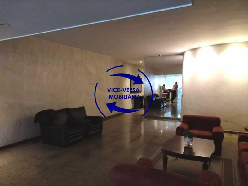 portaria - Apartamento À venda na área nobre da Rua Uruguai - Tijuca, próximo da Universidade Cândido Mendes - salão, sala íntima, lavabo, 3 quartos (suíte), dependências, vaga! - 1341 - 5