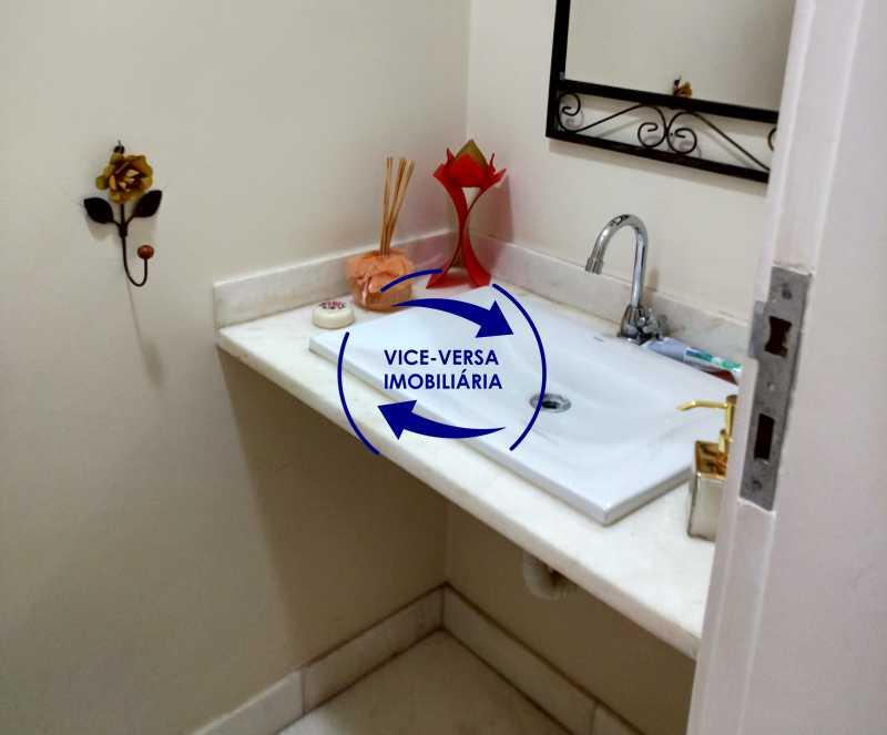 lavabo - EXCLUSIVIDADE! Apartamento À venda na área mais nobre da Tijuca, próximo da Universidade Cândido Mendes - salão, sala íntima, lavabo, 3 quartos (suíte), dependências, vaga! - 1341 - 8