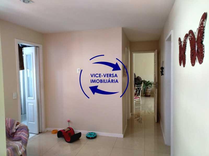 sala-intima - EXCLUSIVIDADE! Apartamento À venda na área mais nobre da Tijuca, próximo da Universidade Cândido Mendes - salão, sala íntima, lavabo, 3 quartos (suíte), dependências, vaga! - 1341 - 10
