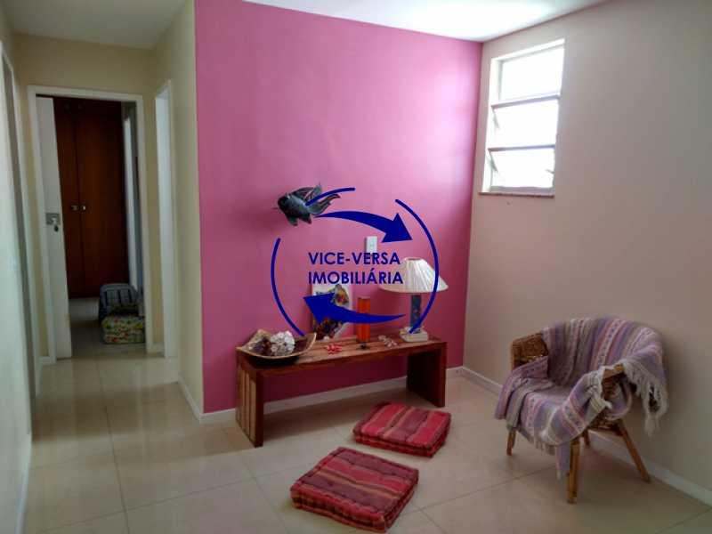 sala-intima - EXCLUSIVIDADE! Apartamento À venda na área mais nobre da Tijuca, próximo da Universidade Cândido Mendes - salão, sala íntima, lavabo, 3 quartos (suíte), dependências, vaga! - 1341 - 11