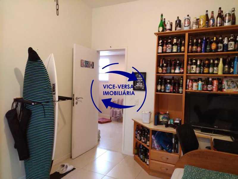 segundo-quarto - EXCLUSIVIDADE! Apartamento À venda na área mais nobre da Tijuca, próximo da Universidade Cândido Mendes - salão, sala íntima, lavabo, 3 quartos (suíte), dependências, vaga! - 1341 - 13