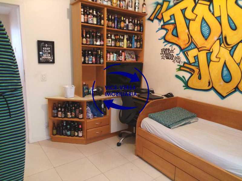 segundo-quarto - EXCLUSIVIDADE! Apartamento À venda na área mais nobre da Tijuca, próximo da Universidade Cândido Mendes - salão, sala íntima, lavabo, 3 quartos (suíte), dependências, vaga! - 1341 - 14
