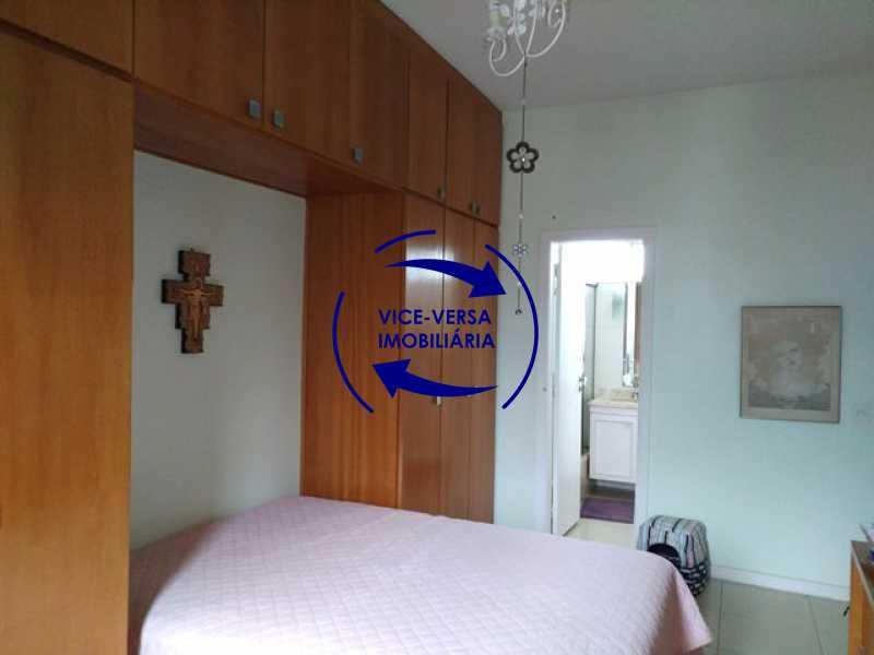 suite - EXCLUSIVIDADE! Apartamento À venda na área mais nobre da Tijuca, próximo da Universidade Cândido Mendes - salão, sala íntima, lavabo, 3 quartos (suíte), dependências, vaga! - 1341 - 16