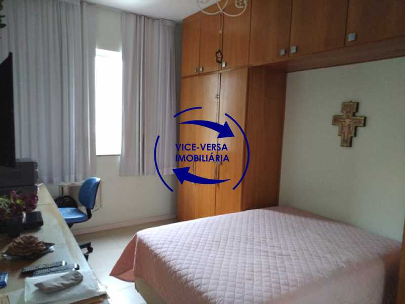 suite - EXCLUSIVIDADE! Apartamento À venda na área mais nobre da Tijuca, próximo da Universidade Cândido Mendes - salão, sala íntima, lavabo, 3 quartos (suíte), dependências, vaga! - 1341 - 17
