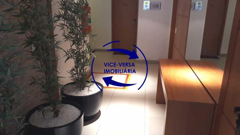 portaria - EXCLUSIVIDADE!!! Apartamento À venda no Condomínio Rossi Litorâneo - 92m², 3 quartos (2 suítes), copa-cozinha, lavanderia e banheiro de serviço, vagas, infraestrutura completa! - 1332 - 6