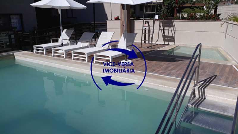 piscinas - EXCLUSIVIDADE!!! Apartamento À venda no Condomínio Rossi Litorâneo - 92m², 3 quartos (2 suítes), copa-cozinha, lavanderia e banheiro de serviço, vagas, infraestrutura completa! - 1332 - 5